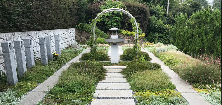 百草墓苑利用シーン